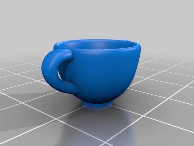 Makies茶具套件 3D模型  图4