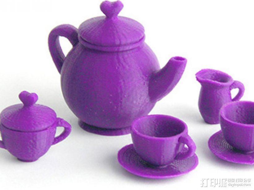 Makies茶具套件 3D模型  图1