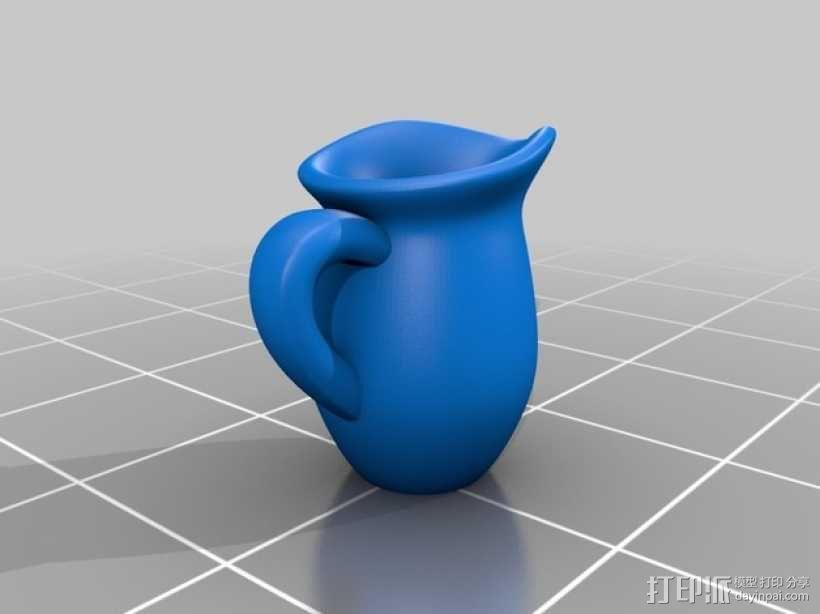 Makies茶具套件 3D模型  图5