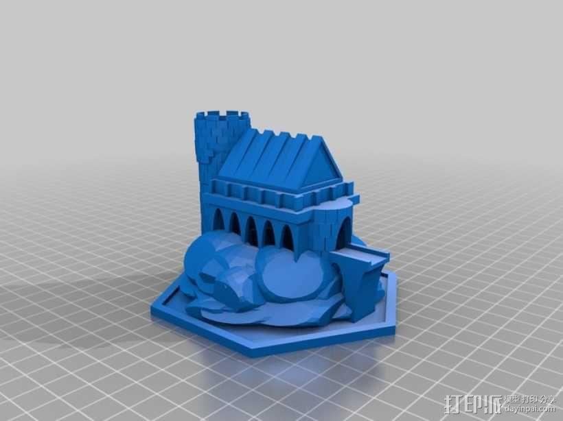 迷你魔法城堡 3D模型  图2