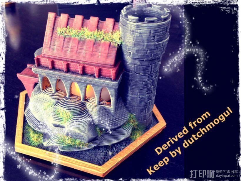 迷你魔法城堡 3D模型  图3