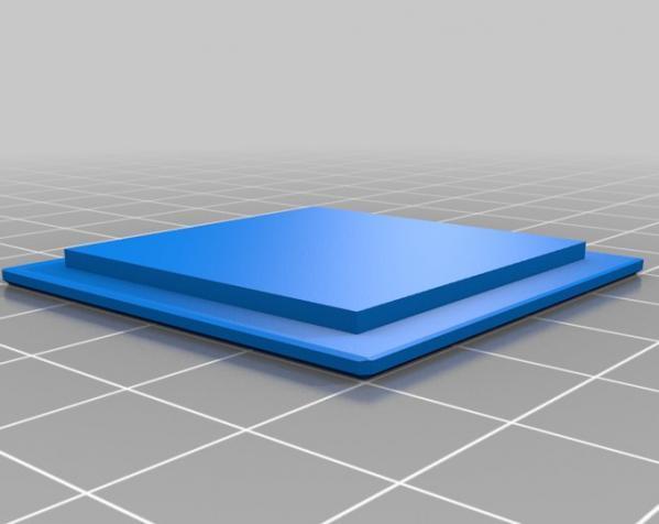 空心玩具板条箱 3D模型  图2