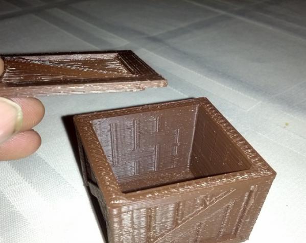 空心玩具板条箱 3D模型  图3