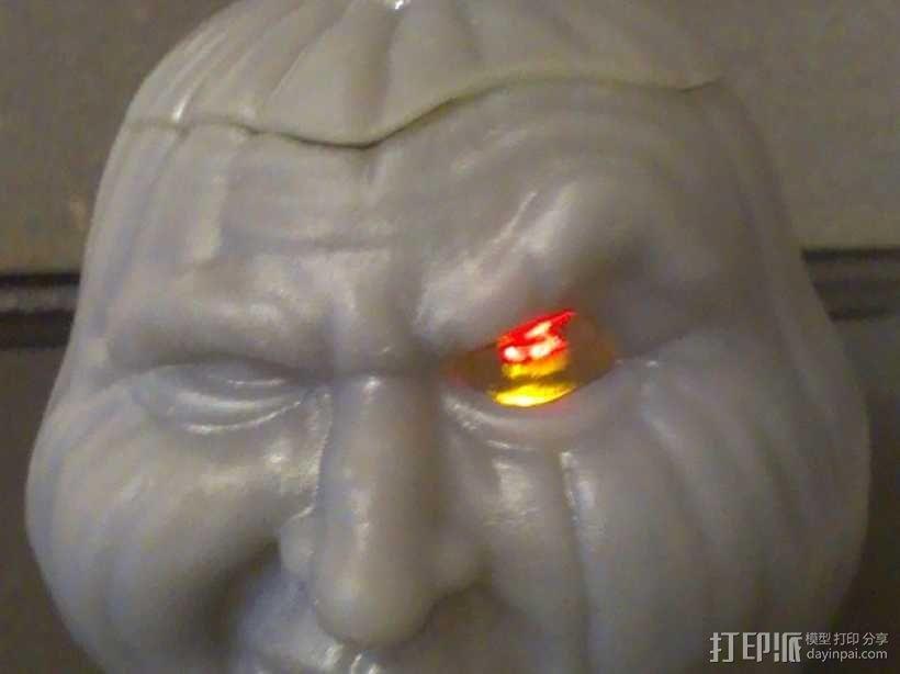 空心南瓜灯2 3D模型  图1