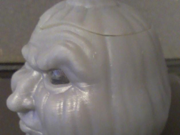 空心南瓜灯2 3D模型  图4