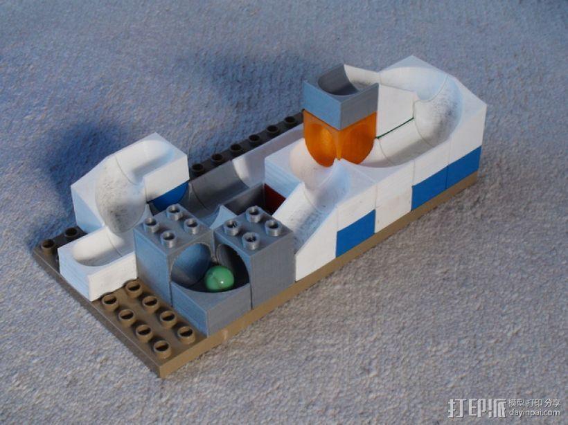 得宝弹珠运行轨道 3D模型  图4