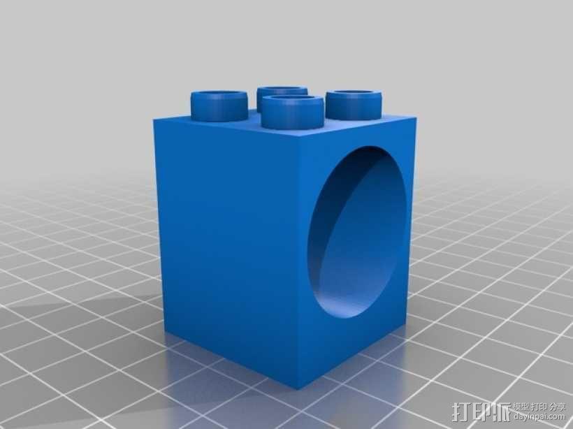 得宝弹珠运行轨道 3D模型  图6