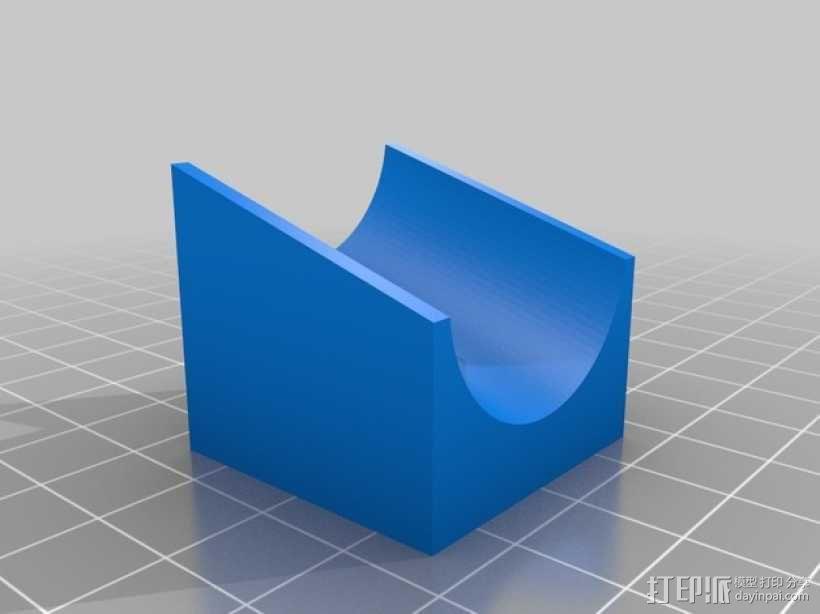 得宝弹珠运行轨道 3D模型  图9