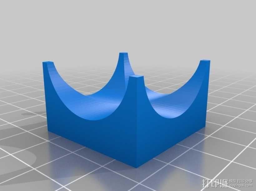 得宝弹珠运行轨道 3D模型  图13
