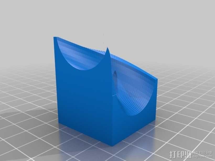 得宝弹珠运行轨道 3D模型  图14