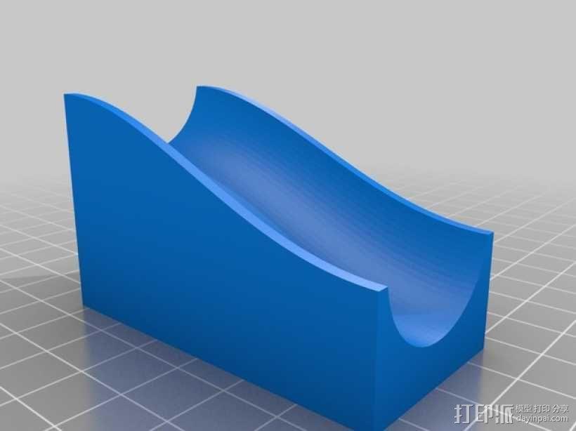 得宝弹珠运行轨道 3D模型  图12