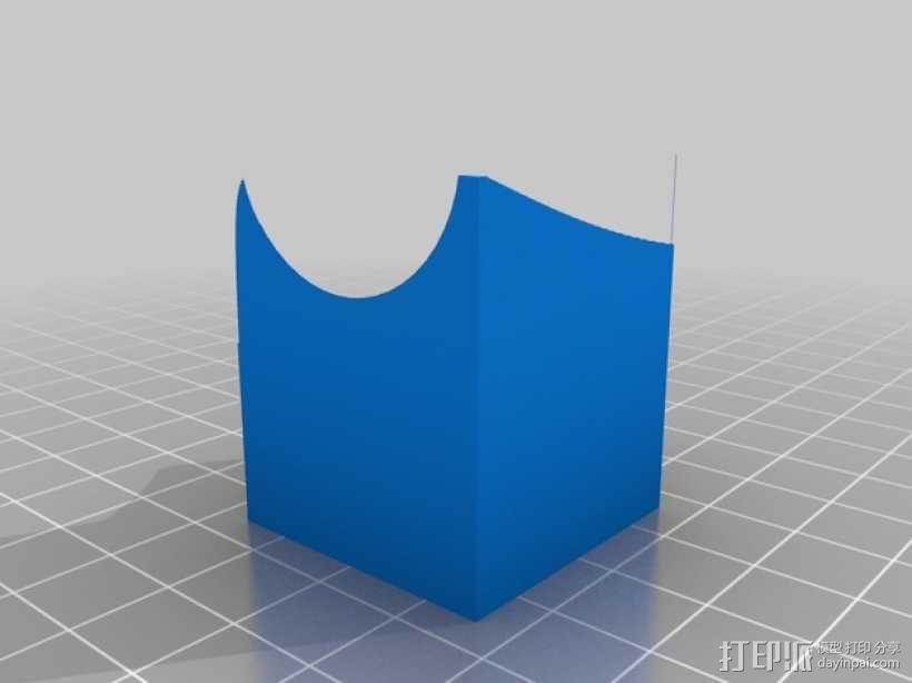 得宝弹珠运行轨道 3D模型  图15