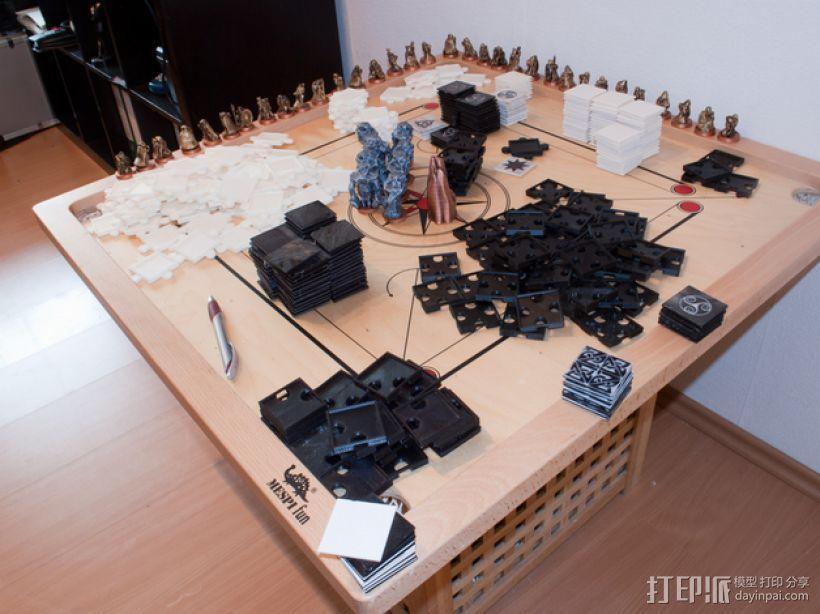 THUD桌面游戏 3D模型  图3