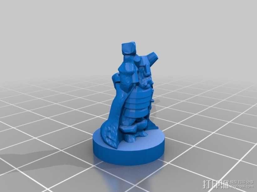 THUD桌面游戏 3D模型  图7