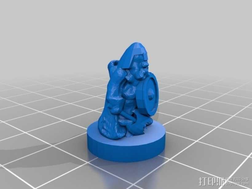 THUD桌面游戏 3D模型  图6
