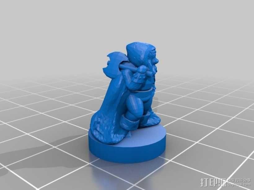 THUD桌面游戏 3D模型  图8
