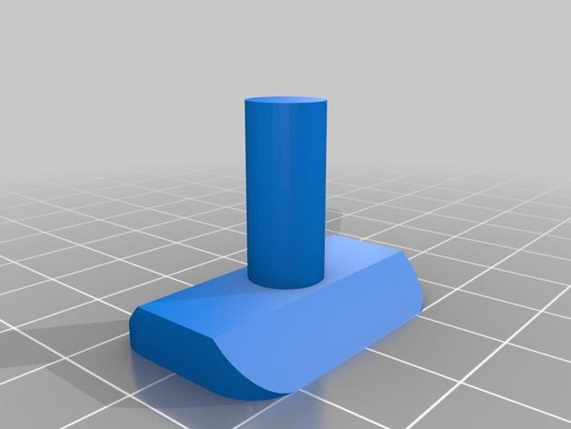 90度直线型联动装置 3D模型  图3