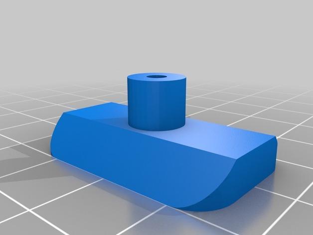 90度直线型联动装置 3D模型  图5