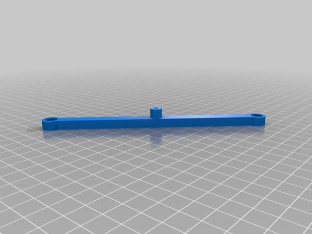 90度直线型联动装置 3D模型  图6