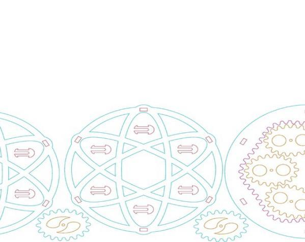 椭圆行星齿轮 3D模型  图2