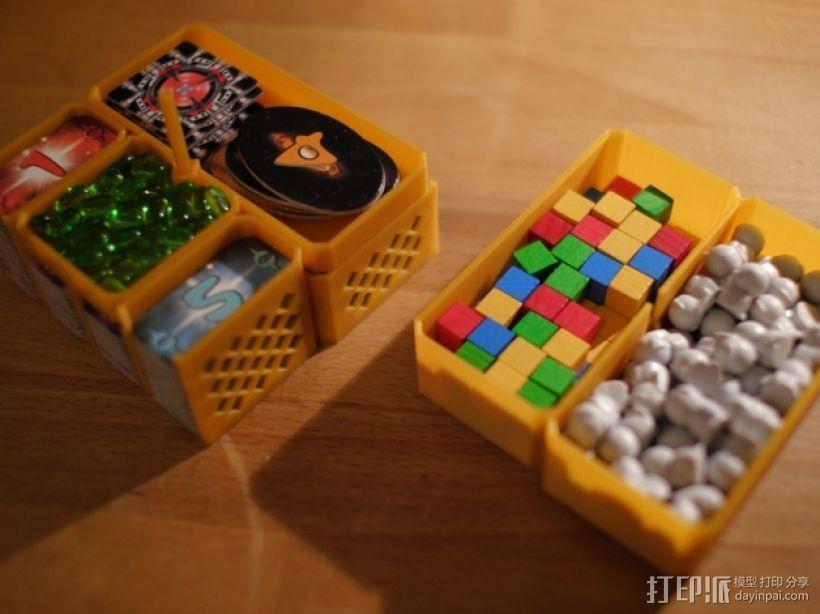 银河卡车:游戏筹码盒 3D模型  图3
