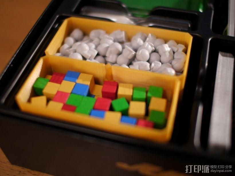 银河卡车:游戏筹码盒 3D模型  图4