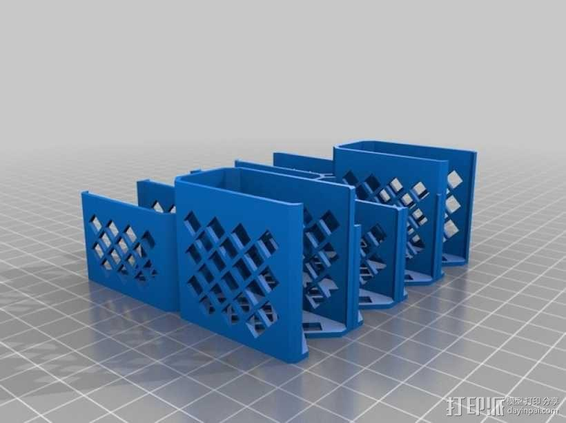 银河卡车:游戏筹码盒 3D模型  图6
