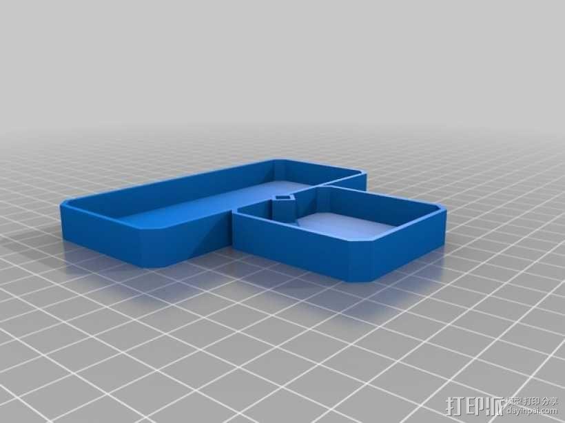 银河卡车:游戏筹码盒 3D模型  图7