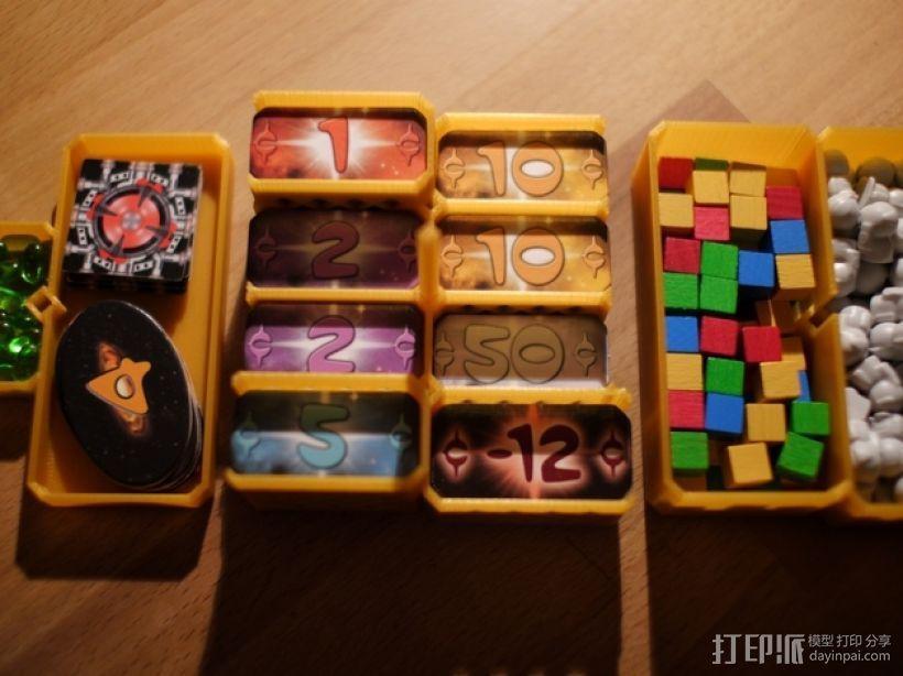 银河卡车:游戏筹码盒 3D模型  图5