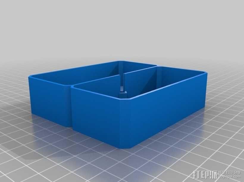 银河卡车:游戏筹码盒 3D模型  图8