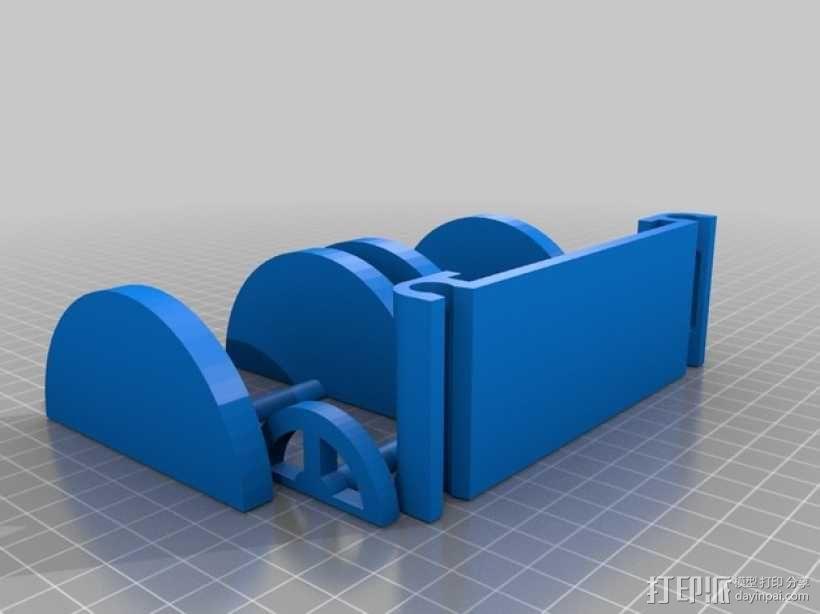 捕鼠器形赛车 3D模型  图6
