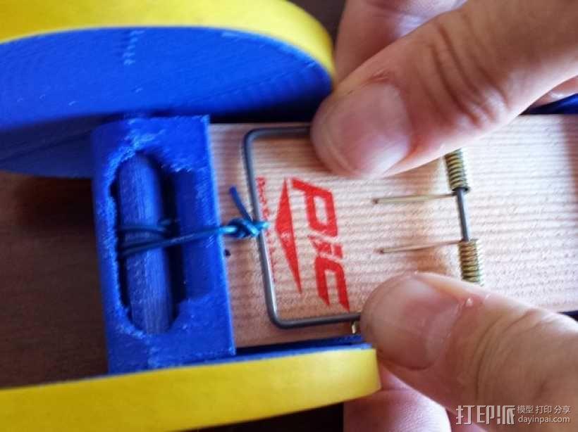 捕鼠器形赛车 3D模型  图5