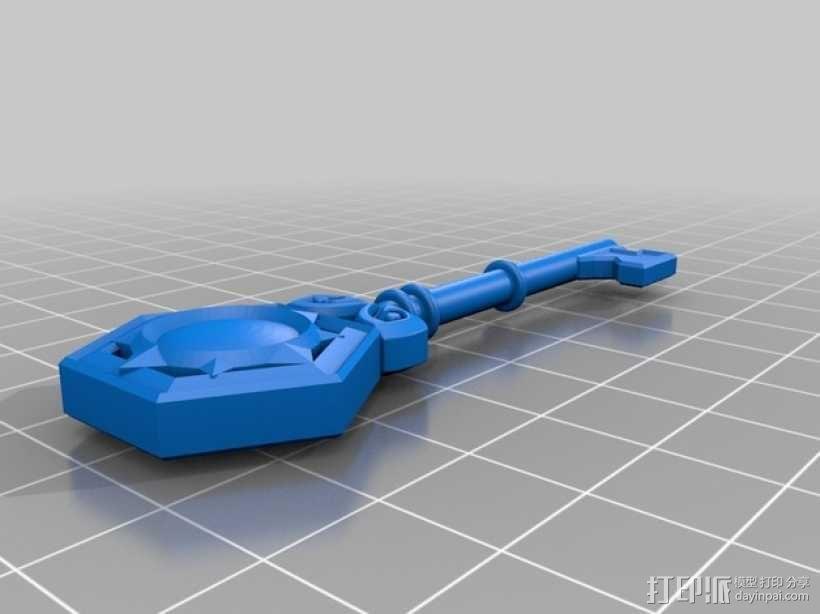 炉石传说:竞技场钥匙 3D模型  图2