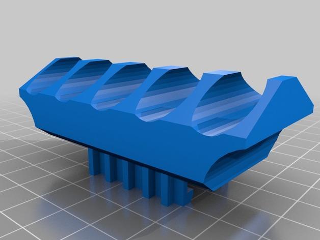 飞镖镖盒 3D模型  图1
