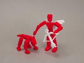 MakerBot玩具小狗 3D模型