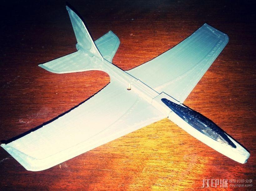 Stratos滑翔翼 3D模型  图1