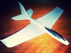 Stratos滑翔翼 3D模型