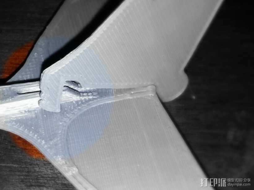Stratos滑翔翼 3D模型  图6