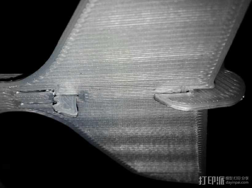 Stratos滑翔翼 3D模型  图5