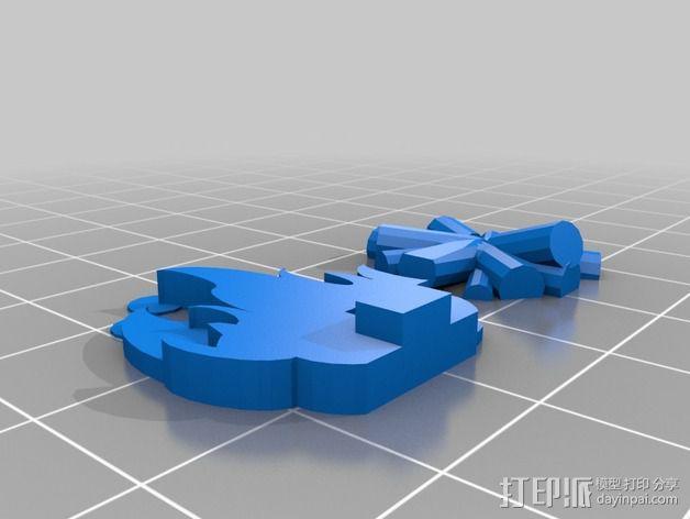FlatMinis:篝火 3D模型  图3