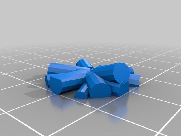 FlatMinis:篝火 3D模型  图4