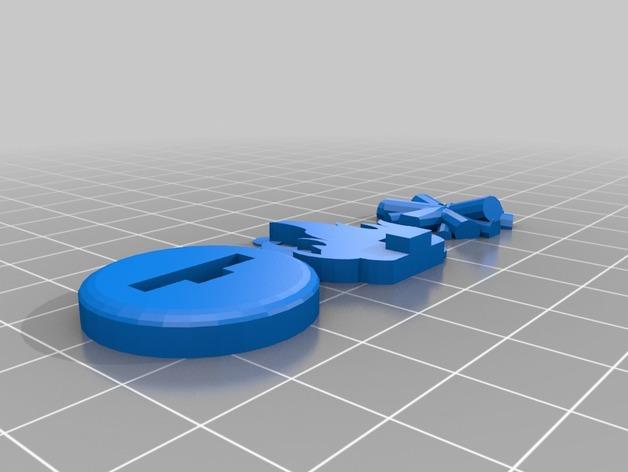 FlatMinis:篝火 3D模型  图6