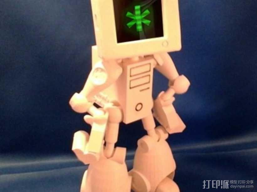 会跳舞的机器人模型 3D模型  图1