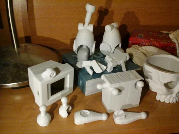 会跳舞的机器人模型 3D模型  图2