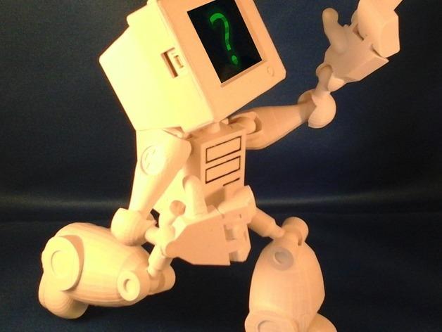 会跳舞的机器人模型 3D模型  图4