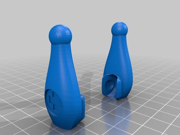 会跳舞的机器人模型 3D模型  图7