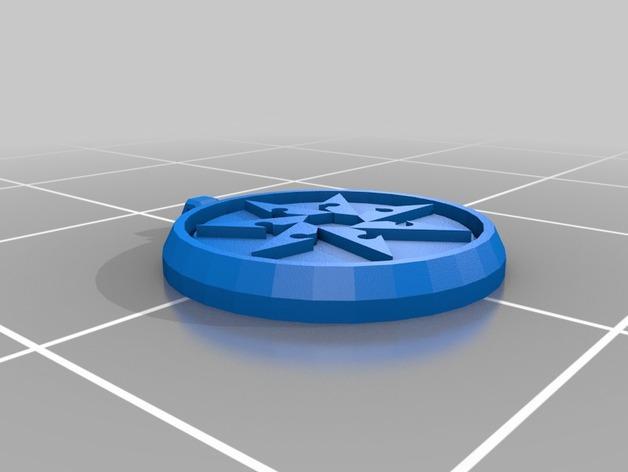 Sihedron护身符 3D模型  图2
