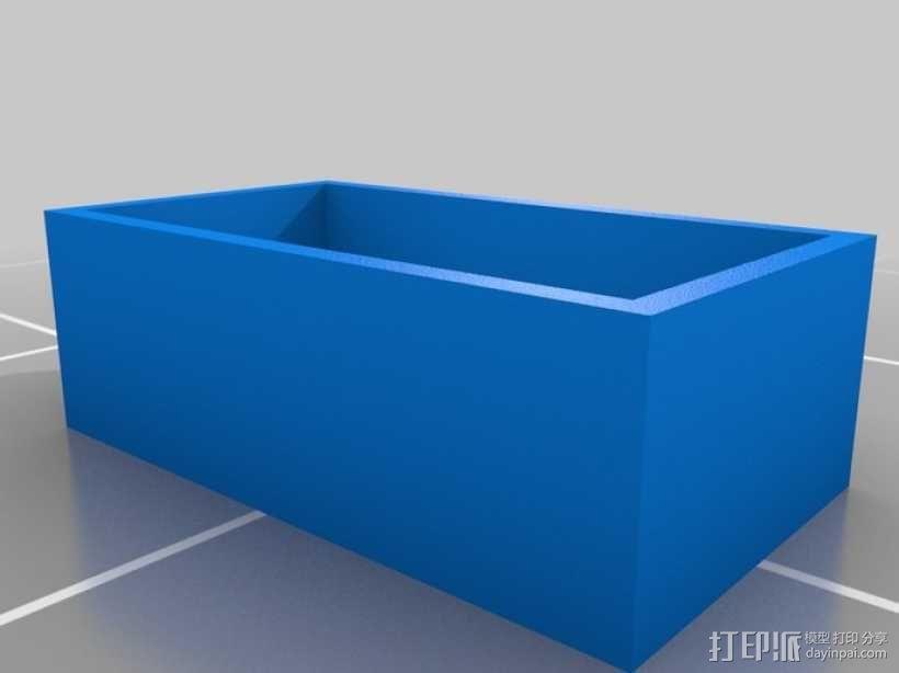 塞尼特棋游戏套件 3D模型  图4