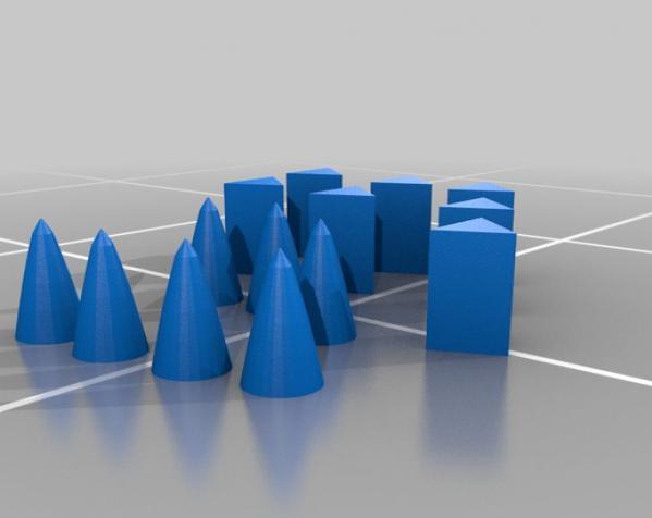 塞尼特棋游戏套件 3D模型  图6