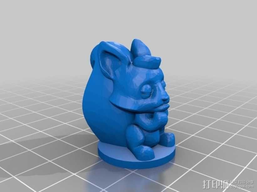 桌游《争吵的小松鼠》模型 3D模型  图5